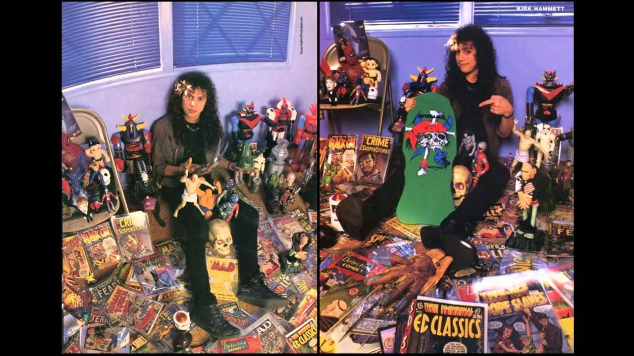 METALLICA Comic Horror (Kirk Hammett) - YouTube