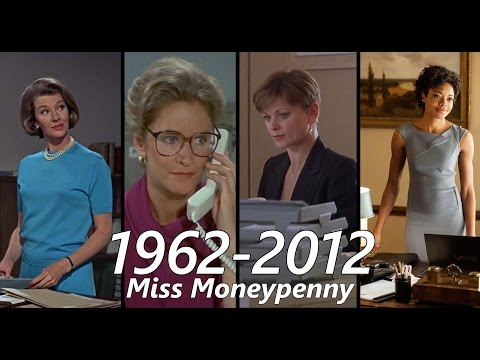 All the Miss Moneypenny s 1962  2012