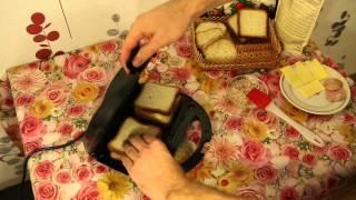 Приготовление сэндвичей с помощью Clatronic ST/WA 3490