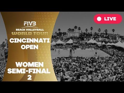 Cincinnati Open - Women Semi Final 2 - Beach Volleyball World Tour