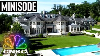 THE $39.9M NEW JERSEY MANSION UP FOR SALE | Secret Lives of the Super Rich