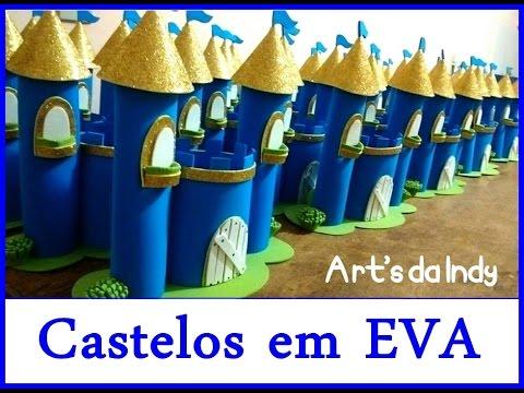Centro De Mesa Castelo De Eva Príncipe Parte 1 Arts Da Indy Youtube