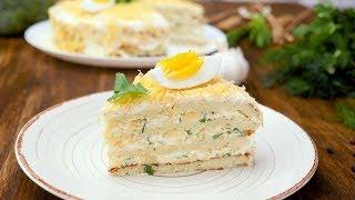 Торт с капустой - Рецепты от Со Вкусом