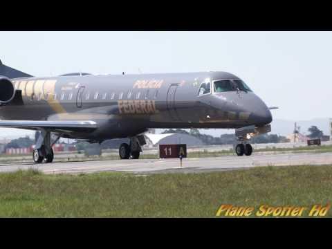 PR-PFN- Embraer 145 da Polícia Federal