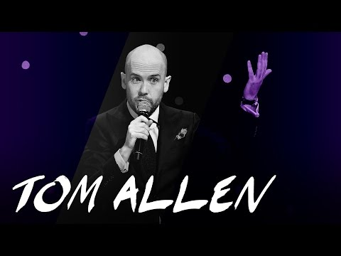 "Tom Allen: ""I would NEVER send anybody a friend request."""