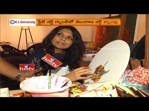 Colorful Painting Expo@Telangana Art Camp | Artists To Participate in Telangana Formation Day | HMTV