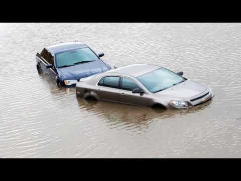 Heavy rain floods streets, rivers in Flint and Genesee County