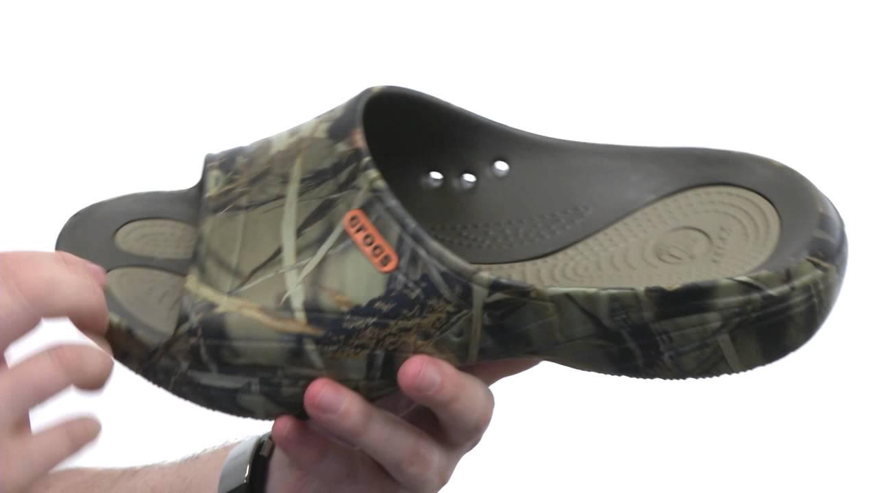 f01855f6ef85b Crocs Modi 2.0 Realtree Max-4 Slide SKU:#8317033 - YouTube