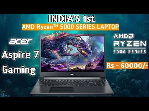 Acer Aspire 7 A715-42G Gaming Laptop (Amd Ryzen 5 5500u/8GB 3200mhz/512GB SSD/Nvidia 1650/Win 10