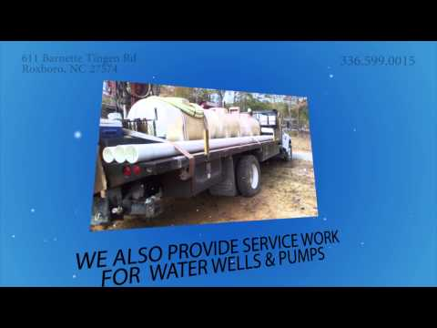 Well Drilling Contractor in Person County, NC | Barnette Well Drilling Inc