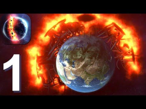 Solar Smash - Gameplay Walkthrough Part 1 Planet Earth (Android, iOS)