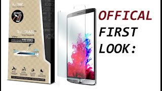 First Look: iCarez Glass Screen Protector for LG G3