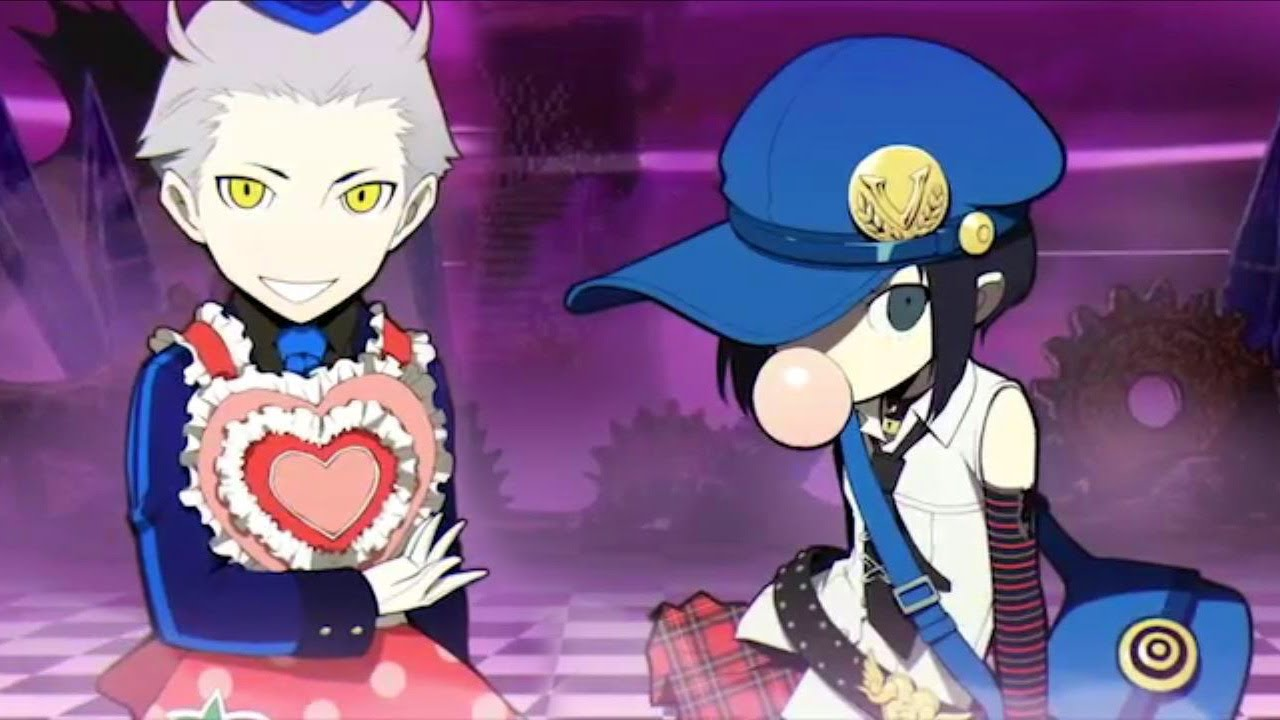 Persona Q - Theodore and Marie Gameplay (3DS)