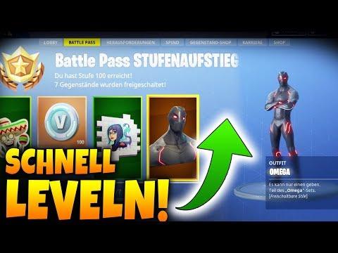 BATTLE PASS SCHNELL LEVELN! - Tipps Und Tricks - Fortnite Battle Royale