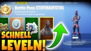 BATTLE PASS FAST LEVELIng! - Tips and Tricks - Fortnite Battle Royale