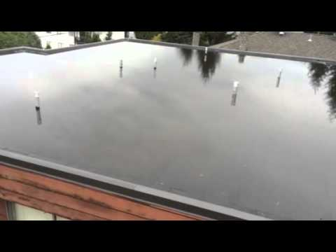 Lake On Roof Fail Home Inspection Youtube