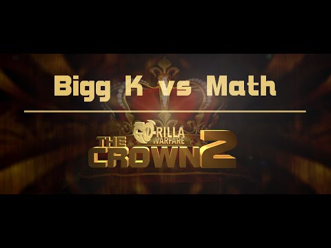 GO-RILLA WARFARE: Bigg K vs Math Hoffa    THE CROWN 2