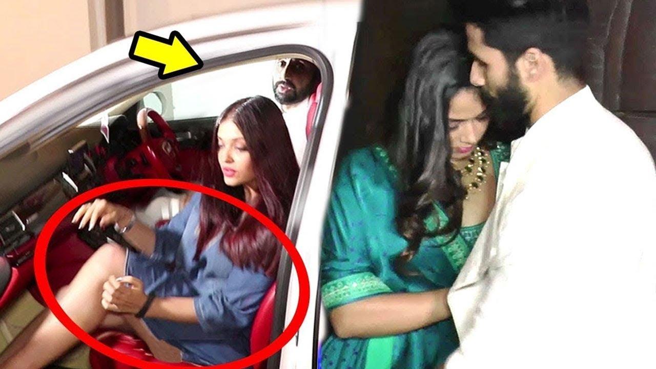 Shahid Mira Vs Abhishek Saving Aishwarya Rai From Oops -6835