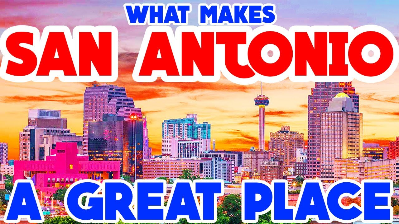 SAN ANTONIO, TEXAS – The TOP 10 Places you NEED to see while you are visiting!