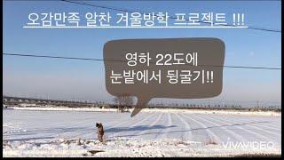 동동형제 오감육아 즐기기  신나는 겨울방학 프로젝트!!…