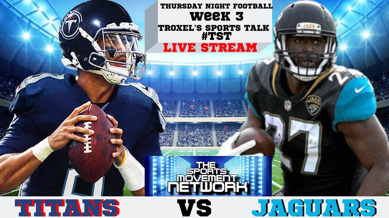 Tennessee Titans vs Jacksonville Jaguars: Live score updates, TV ...