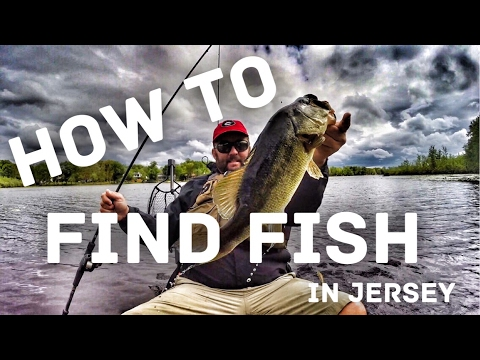 Bass Fishing In New Jersey - How To Fish A Black Water Lake - Fishing Tips And Techniques