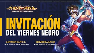 😱¡El MEJOR EVENTO de SAINT SEIYA AWAKENING!😱 *BLACK FRIDAY 2020*