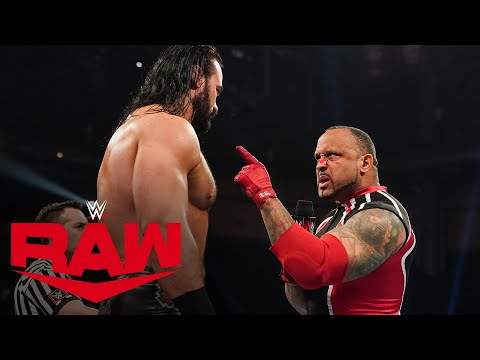 Drew McIntyre Vs. MVP: Raw, Feb. 17, 2020