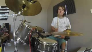 U2 - Out Of Control (Live Slane Castle) - Drum cover