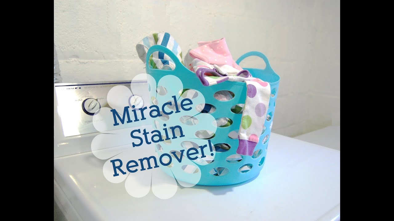 how to make stain remover at home