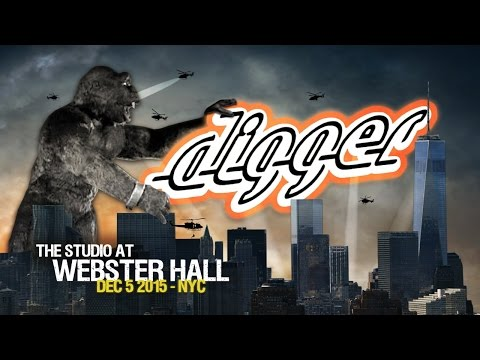 Digger in NEW YORK CITY @THE STUDIO AT WEBSTER HALL, 12.5.15 [FULL Performance]