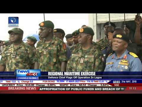 Defence Chief Flags Off Regional Maritime Operation In Lagos
