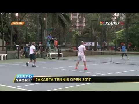 Kejuaraan Tenis Beregu Jakarta Open 2017 Digelar di Ibu Kota