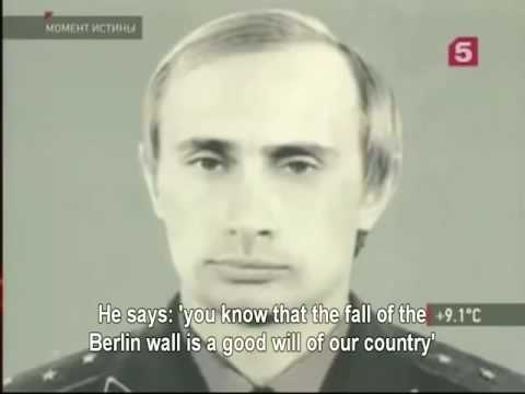 Real PUTIN! Young KGB lieutenant colonel Putin saved KGB offices in Dresden from East German looters