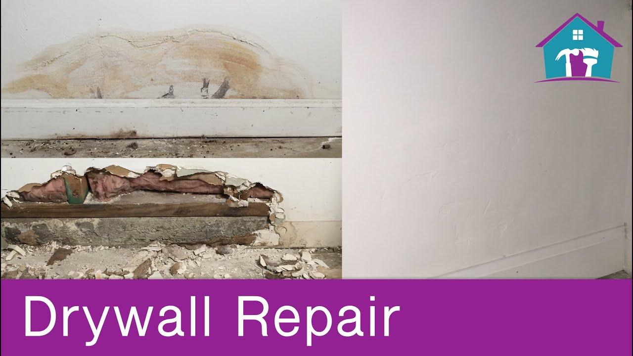 Water Leak & Drywall Repair