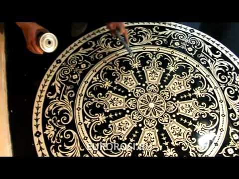 видео: Декоративные наливные полы - компания eurorosi