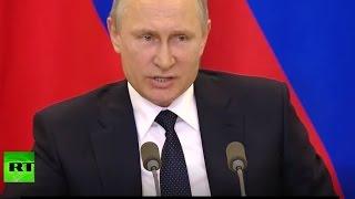 US deep state are schizophrenic - Putin