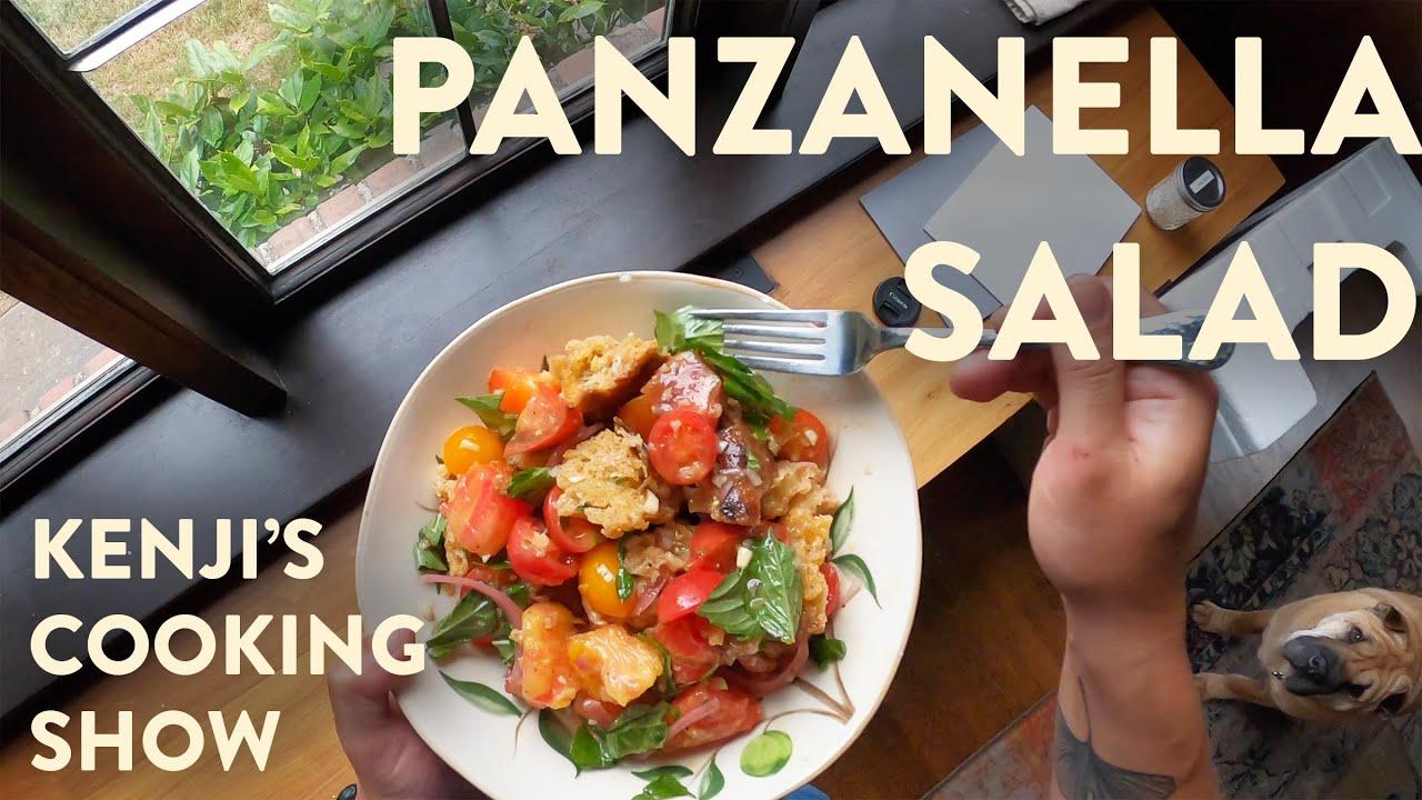 Download Improved Panzanella Salad | Kenji's Cooking Show