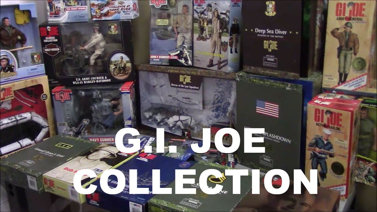 How To Sell Rare GI Joe Action Figures Collection - Sell2BBNovelties com