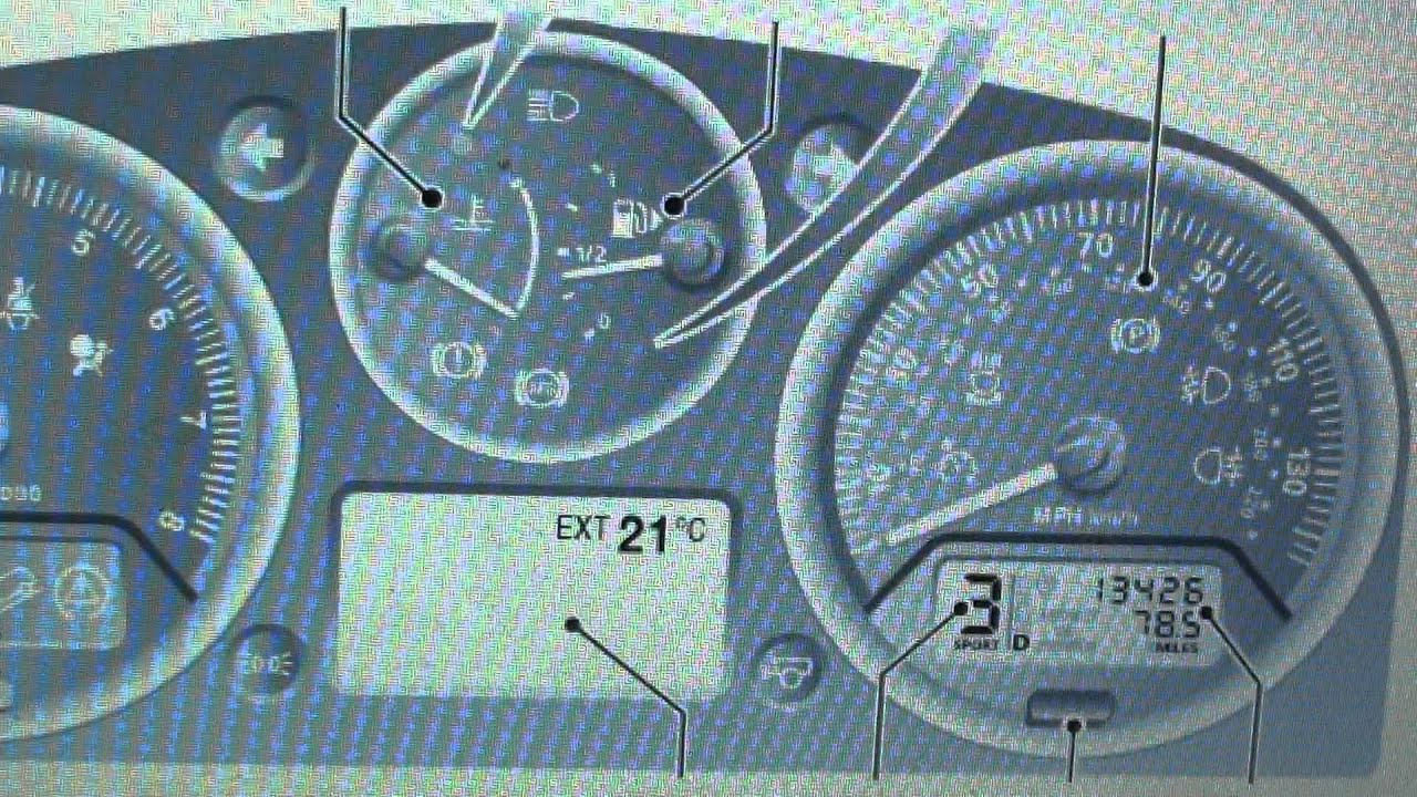 Freelander 2 Dashboard Warning Light Symbols What They Mean Youtube For Toyota Cars