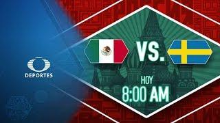 México vs Suecia por el pase a Octavos | Hoy - Televisa Deportes