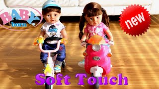 Baby Born Brother & Sister Soft touch Doll 2019 Unboxing Review - Play, Care & Fun with Baby Doll