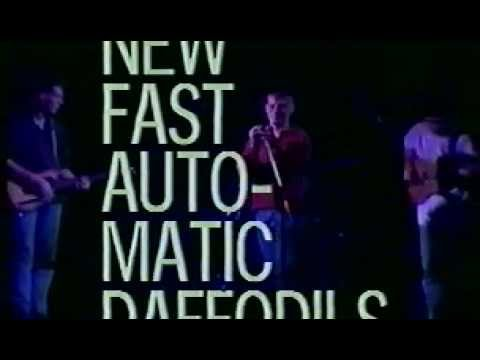 New Fast Automatic Daffodils - bootleg video