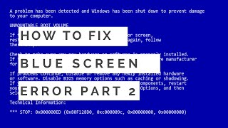 How To Fix Blue Screen Error By Cleaning Dump Files