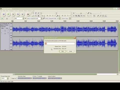 Convert digital audio file into GSM 6.10 WAV format