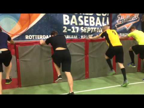 AMSTERDAM PIRATES BASEBALL DUTCH ROOKIE LEAGUE SEASON 2016 INDOOR WORK-OUT PT-Haarlem.nl