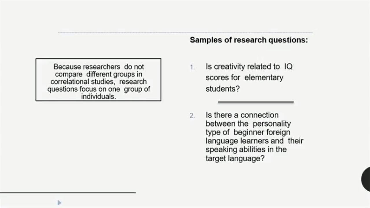Correlational Research Design | Urdu