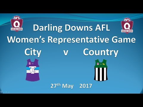 AFL Darling Downs - Womens City v Country 2017