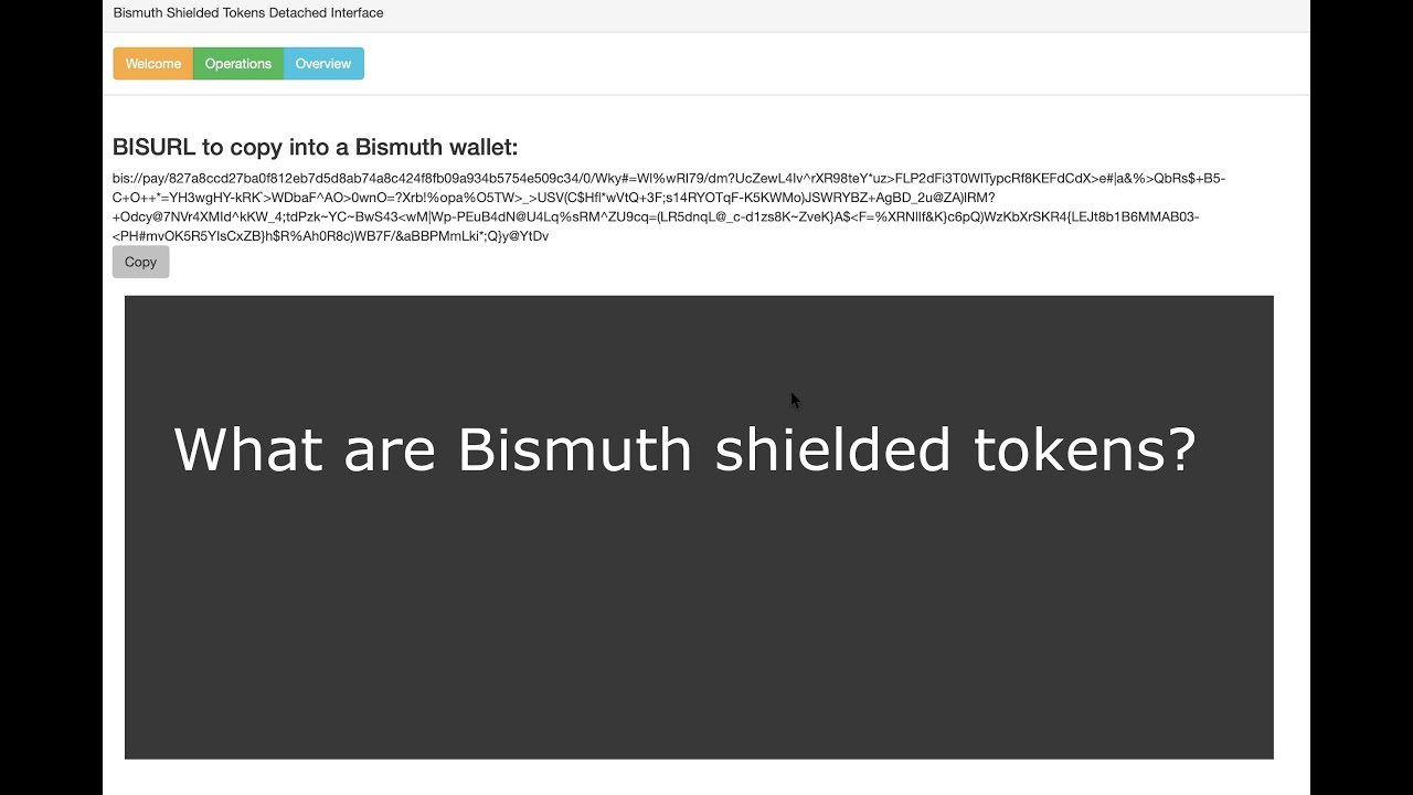 bismuth cryptocurrency wallet