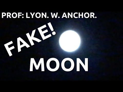 Hoax Moon.... Proving the flat Earth.... Experiment 7.... Prof L W Anchor. thumbnail